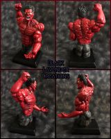 Commission: Marvel's Red Hulk by BlackLavenderSoul