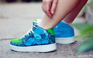 Stitch Sneaker by Bobsmade