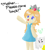 'Please come back.....' by Peach-X-Yoshi