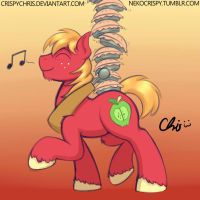 Pie lovin' Big Mac~ by NekoCrispy