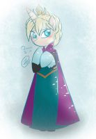 Queen Elsa (Pony Version) by Rockarboom
