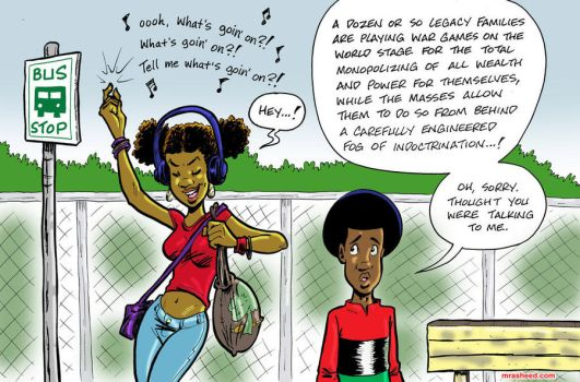 Answering Marvin by mrasheed