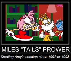 Cookie Theif Demotivational by Ghostbustersmaniac