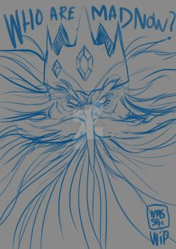 ICE KING WIP by LeandroMassai