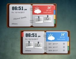 MemoBook Style for xwidget by Jimking