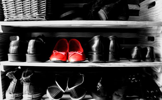 Red Shoes by Jkimbo