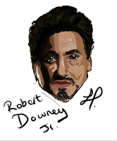 Robert Downey Jr by The-Cyclops