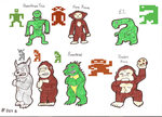 Atari Sprites - 1 by Missingno-54