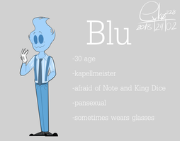 : Blu (new reference AGAIN) : by Serri765