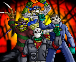Sewer Slashers! by Amanofnoknowledge