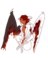 Literally Satan.PNG (WiP2) by Liepardhugs