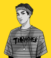 thrasher by khovii