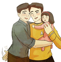 Shore Leave with Sulu by Arkham-Insanity