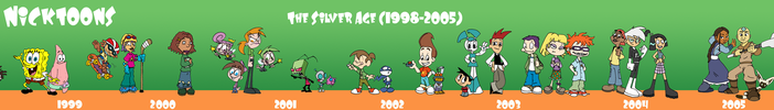 The Silver Age of Nicktoons by jbwarner86