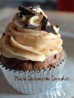Mocha Cappuccino Cupcake by thelumpy