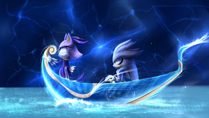 Sail of Two Worlds by Ora-Allagis