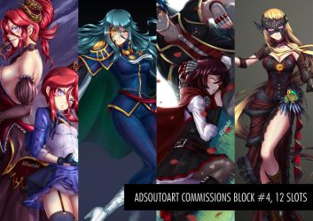 Commisions Block #4 by ADSouto