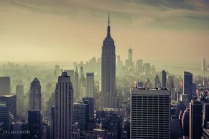 New York- Empire State building by olideb08