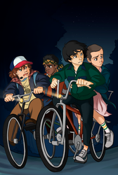 Stranger Things by DLapiz