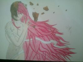 Lucy - Elfen Lied by Icantdrawhands