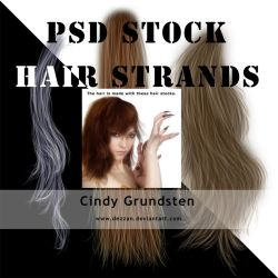 HairStock III by CindysArt