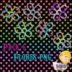 Flores PNG Pack by LuuLiiEditions