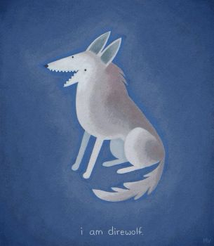 I am direwolf by sketchinthoughts