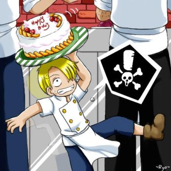 Gift for a fellow Sanji lover by ryo-hakkai