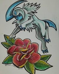 pkmn - absol by Ila-Sweet