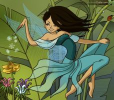 Maia Garden Fairy by Shirekat
