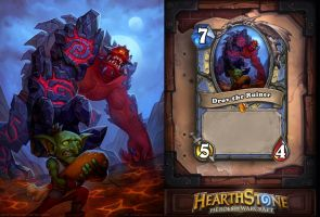 Drov the Ruiner - Hearthstone fanart by Anhel1310