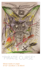 Pirate Curse poster by Senecal