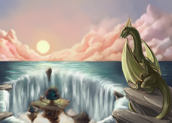 Return To The Dragon Isles by kasami