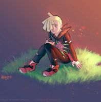 Gladion collab by Viral-Zone