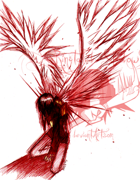 _--Evil Angel--_ by Ringtailed-Shadow