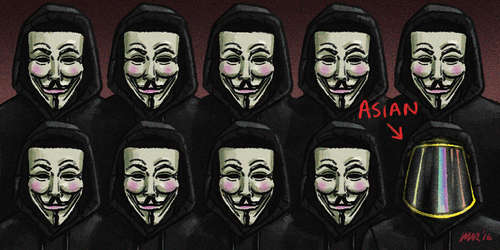 Asian Anonymous by gaudog