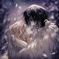 lovers and snow by Diddha