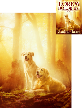Golden Afternoon Premade Book Cover by Viergacht