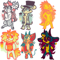 Adopts! AND SPECIAL OFFERS!! (look in desc.!) by OliveCow