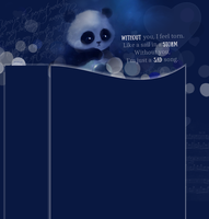 Dark blue layout by Hrasulee