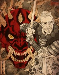 Star Wars Samurai II by KendallHaleArt