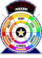 Star Wheel #3 $10,000 by mrentertainment