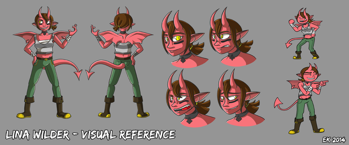 Lina Ref [FIGHTING TOURNAMENT] by party-governor