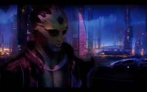Mass Effect 2 Thane 2 by AgataFoxxx