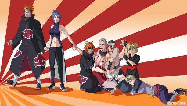--+Hidan Surrounded+-- by Marre-Chan95