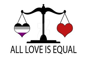All Love is Equal with Asexual Heart by lovemystarfire