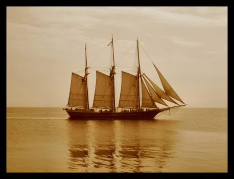 Goonies Boat by fallenfullmoon