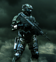 UNSC Army Soldier by LordHayabusa357