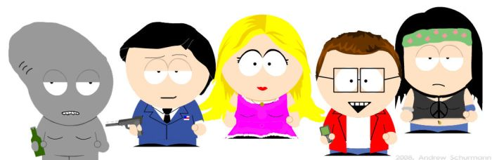 American Dad: South Park-ified by NYRfan85