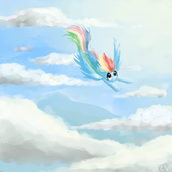 Through The Clouds by CerebralVapor